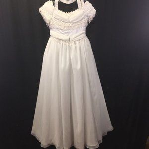 Artemis Collection White Dress Wedding Bat Mitzvah